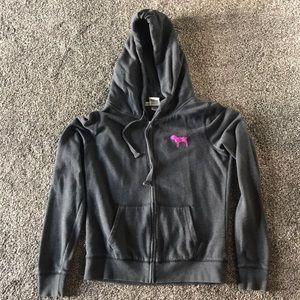 Victoria's Secret Pink sequin hoodie